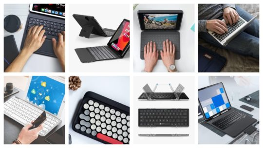 The best iPad keyboard cases and compatible wireless keyboards