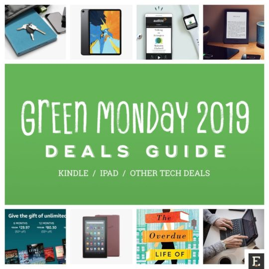 Top Green Monday 2019 deals on Amazon - Kindle and iPad