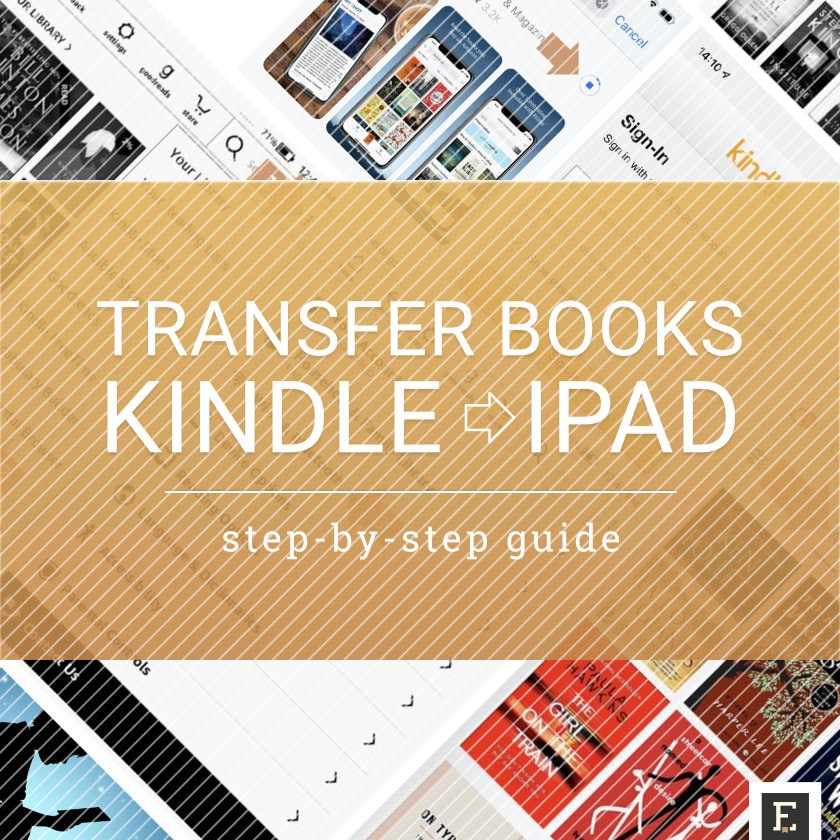 Transfer books from Kindle to iPad iPhone