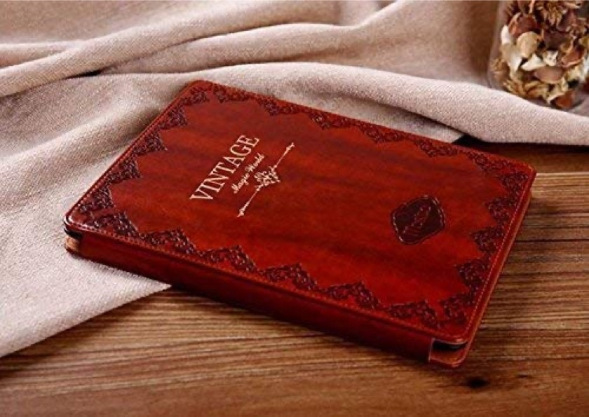 Vintage book iPad Air 3 slim case cover