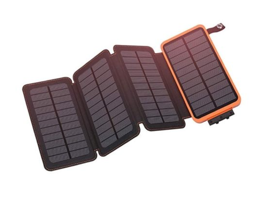 Waterproof extendable solar charger for iPad and iPhone - best accessories for 2020