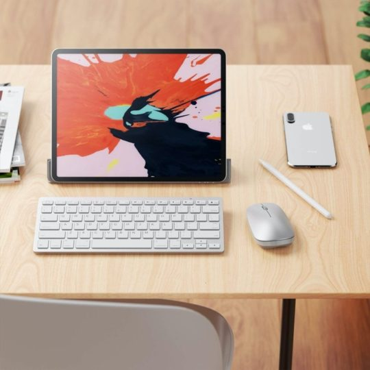 Wireless keyboard and mouse compatible with iPadOS - best iPad accessories to get in 2021