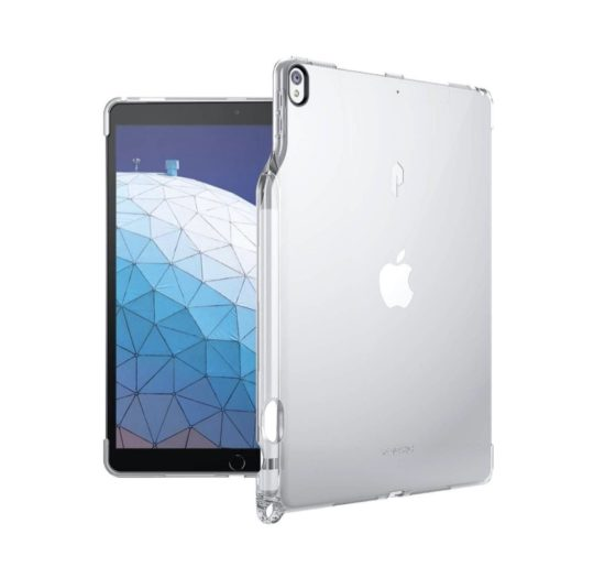 iPad for writing - Smart Keyboard compatible clear back case