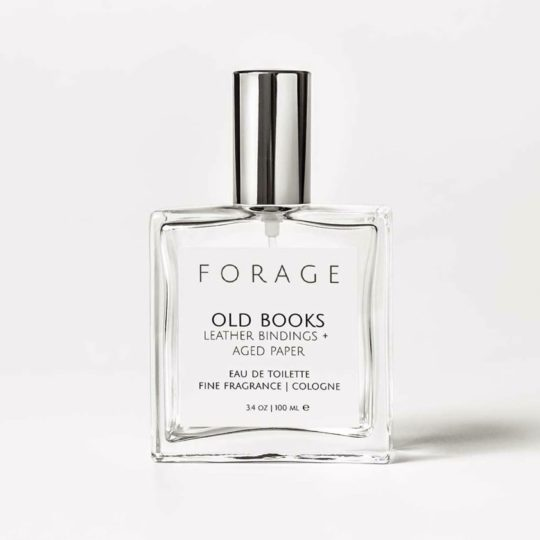 """Old Books"" ethically created perfume"