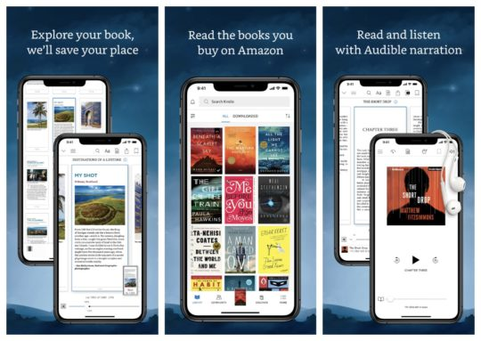 Amazon Kindle - iOS apps for library books