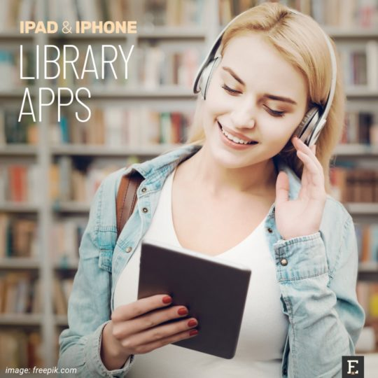 Best iPad and iPhone apps library books audiobooks