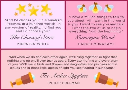Best romantic quotes from literature
