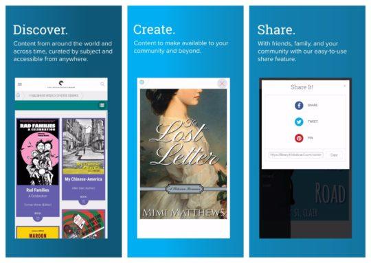 BiblioBoard app for iPad and iPhone