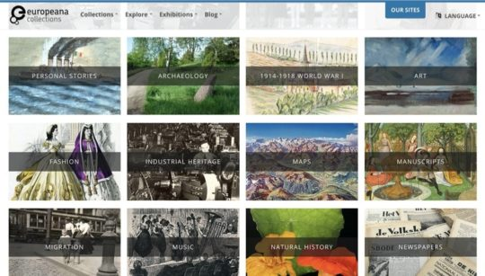 Europeana - free books for iPad
