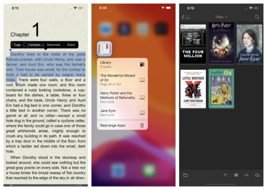 FBReader for iOS - ebub and mobi ebook reader