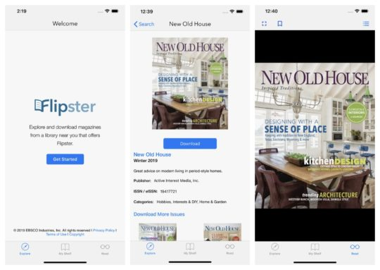 Flipster - iPad apps to borrow magazines