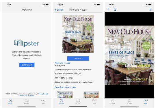 Flipster - iPad apps to borrow magazines