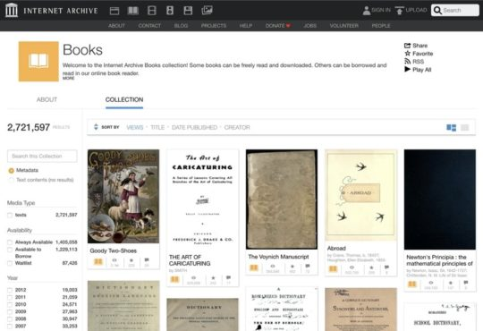 Internet Archive - free iBooks for iPad and iPhone