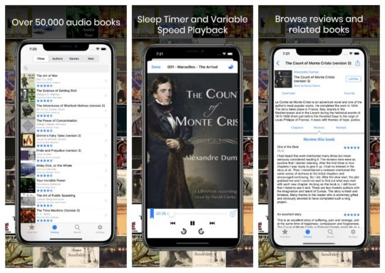 LibriVox Audio Books app for iPad and iPhone