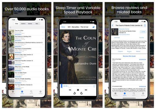 LibriVox Audio Books app for iPad and iPhone