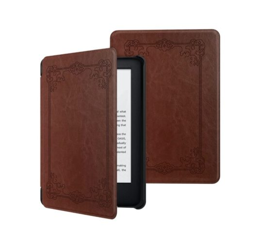 "MoKo ""Old Book"" case cover for basic Kindle"