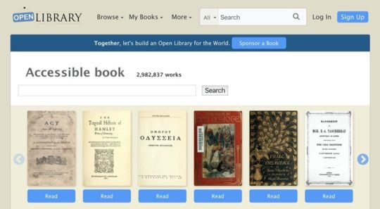 Open Library - free books for iPad and iPhone