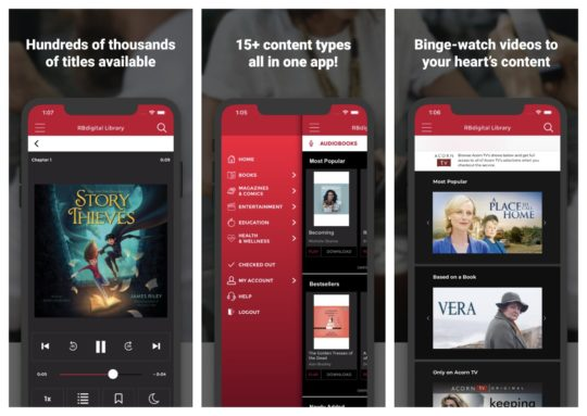 RBdigital - best iPad and iPhone apps to borrow digital content