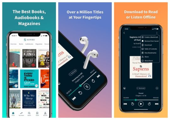 Scribd - unlimited audiobooks for iPad and iPhone