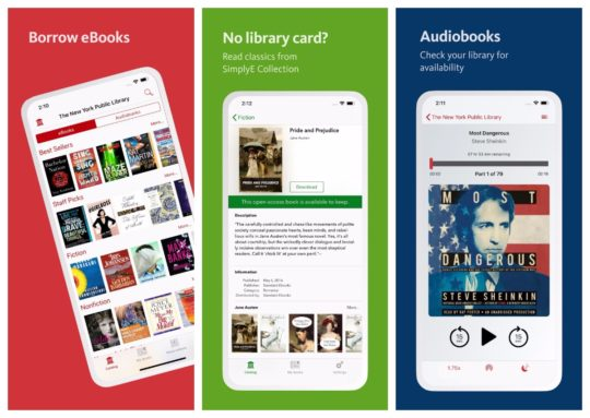 SimplyE - the library e-reader for iPad and iPhone