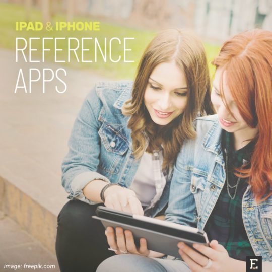 The best reference educational apps iPad iPhone