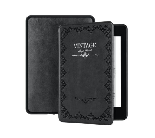 Vintage book - Kindle Paperwhite case cover