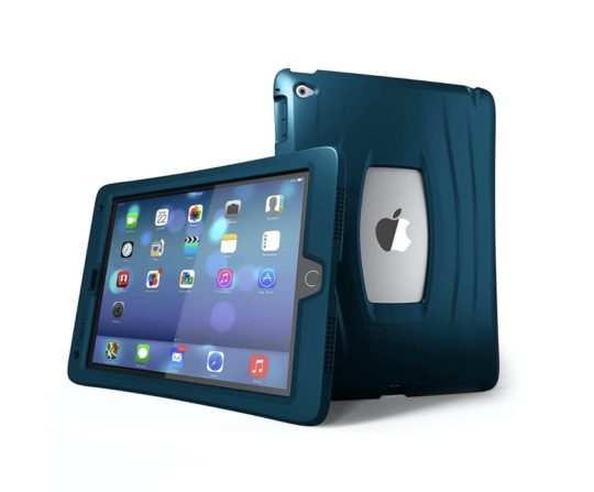 Apple iPad mini 5 heavy-duty case with reinforced edges