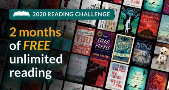 Kindle Unlimited deal - March and April 2020
