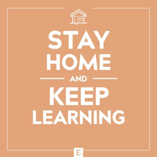 Stay home and keep learning