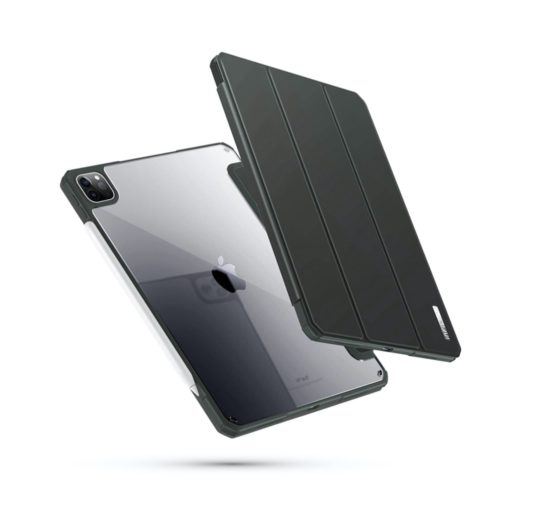Tri-fold iPad Pro 11 (2020 model) stand case with enhanced protection