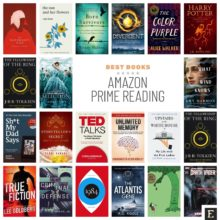 Amazon Prime Reading - best books of all time