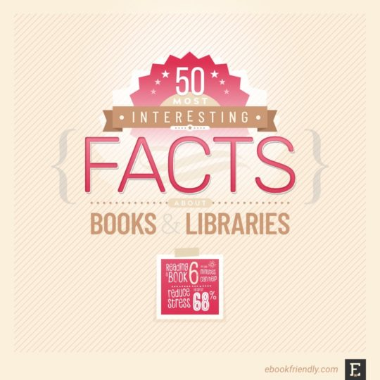 Best facts about books libraries reading