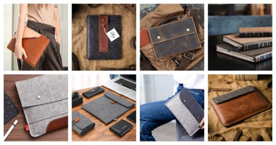 Best iPad Pro sleeves from felt and leather - ultimate guide