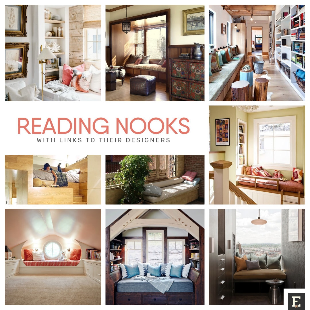 Best reading nooks with links to designers
