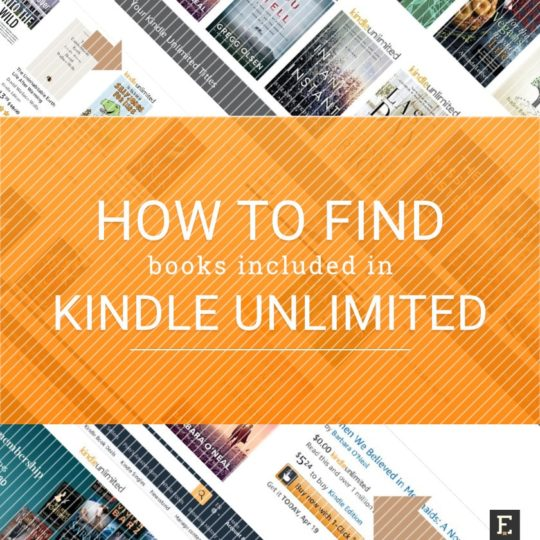 Find Kindle Unlimited books - simple guide