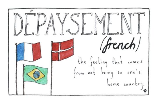 French Depaysement - untranslatable foreign language words