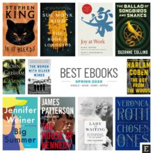 Hot new ebooks for spring 2020 - Kindle, Nook, Kobo, iPad