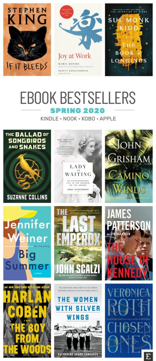 Hot new ebooks spring 2020 - Kindle, Nook, Kobo, iPad