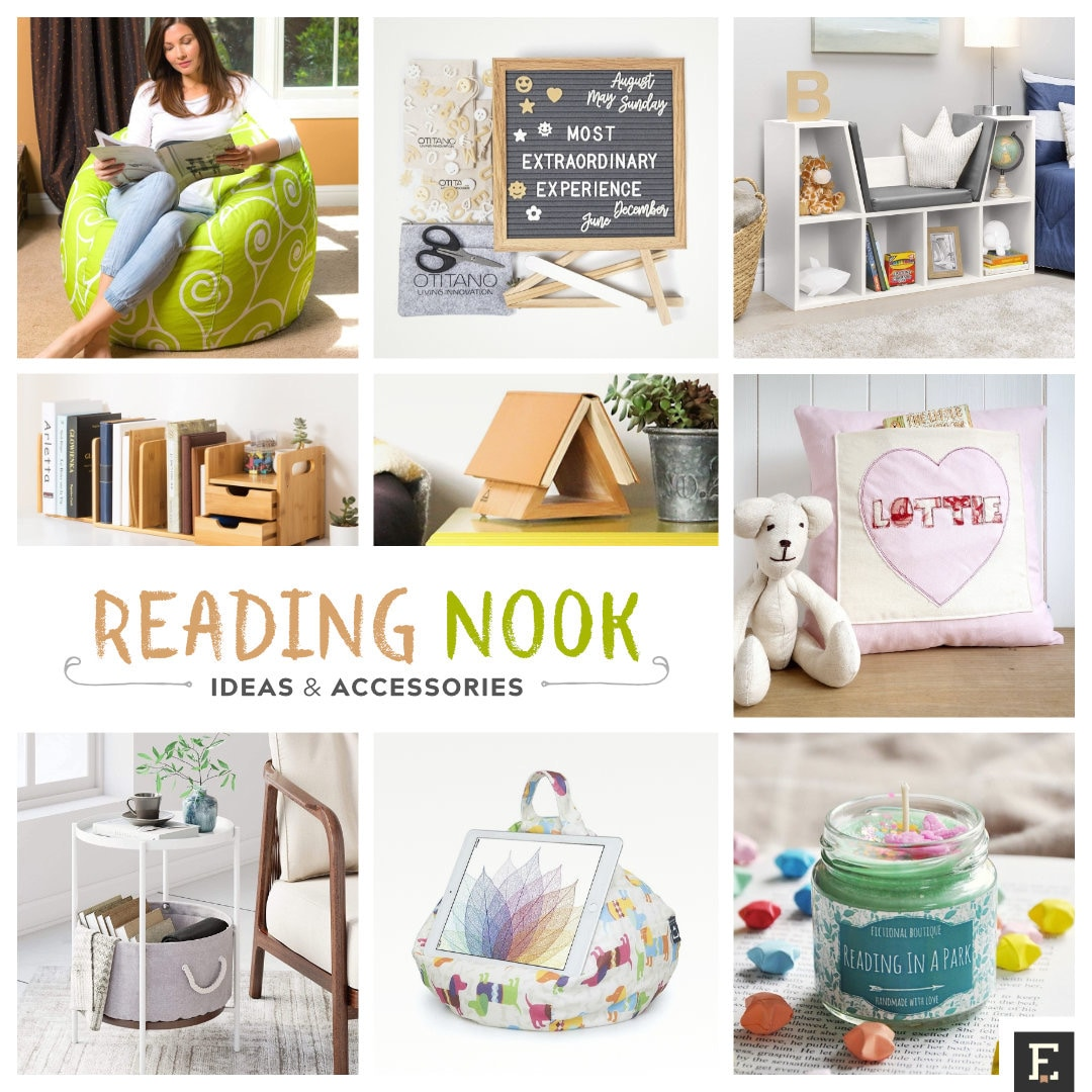 Reading nook - best ideas and accessories