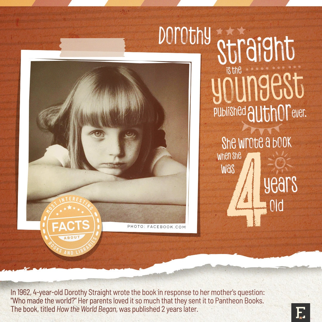 The youngest published author - top facts about books and authors