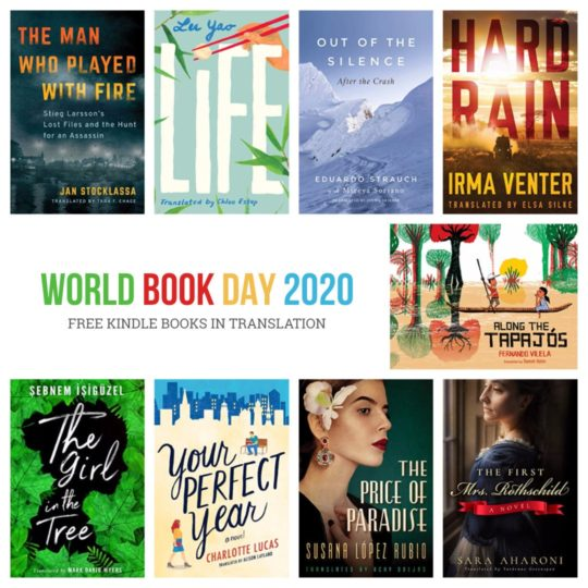 World Book Day 2020 - free Kindle books
