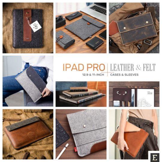 iPad Pro - best leather and felt sleeve roundup