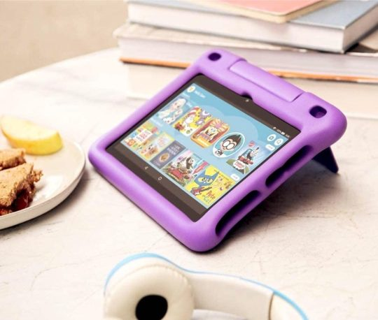 Amazon Fire Kids Edition is the best tablet for children