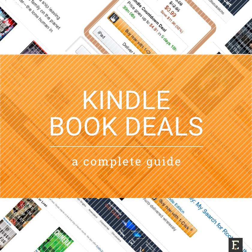 Amazon Kindle books on sale - complete guide