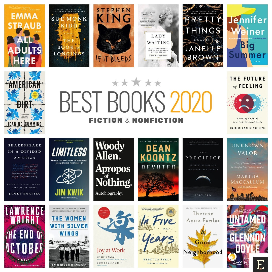 Best books 2020 - fiction and nonfiction