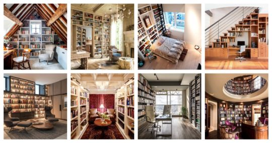 Best home library ideas designs examples