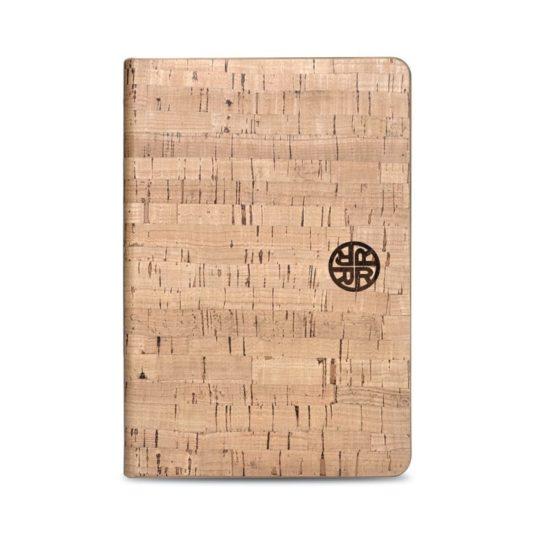 Eco-friendly natural cork iPad 10.2 folio case