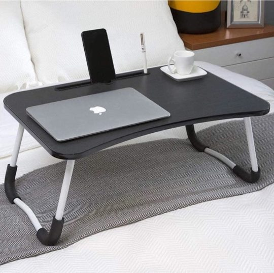 Laptop table with tablet stand - top gifts for dads