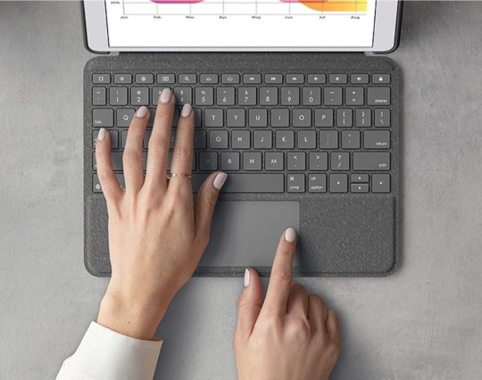 Logitech Combo Touch with trackpad for Apple iPad 10.2