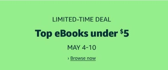 Mother's Day 2020 deal Kindle books Hachette